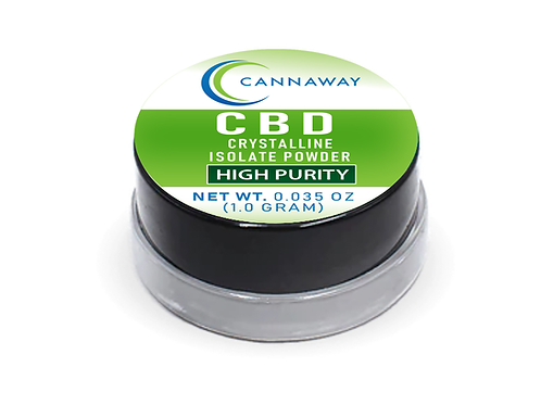 Cannaway® CBD Isolate Powder