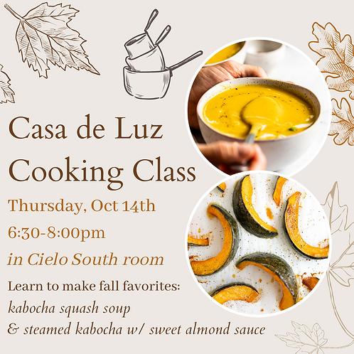 Casa de Luz Cooking Class