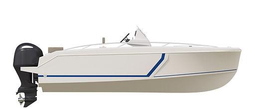 Imagen modelo evo-s vinttyacht perfil blanco