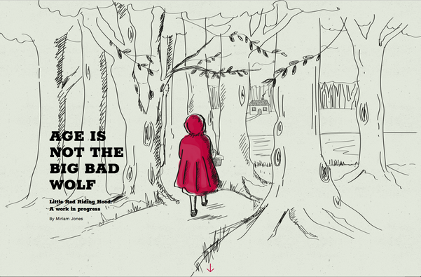 Age is not the big bad wolf