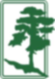 Clark Horticulture Logo, a tree edging out of a box