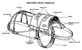 decker pack saddle
