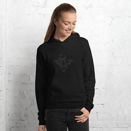 Acro Couple Unisex hoodie