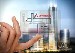 Transparent Business Card 1