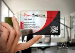 Transparent Business Card 2