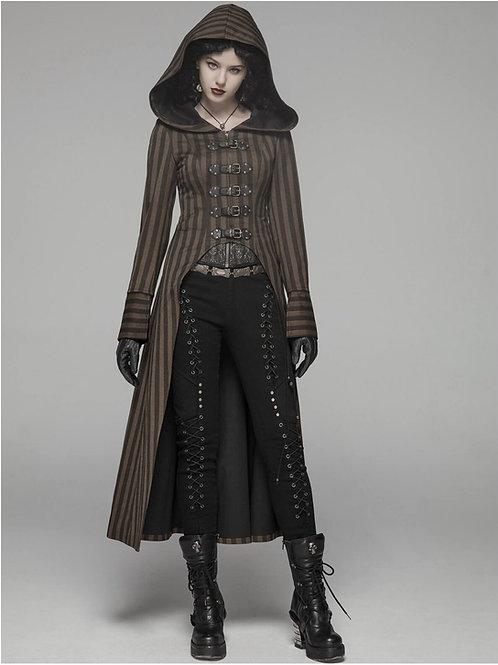 Dr John steampunk coat lady ladies damesjas mad max diesel punk victorian aristocrat alternative wear alternatieve kleding am