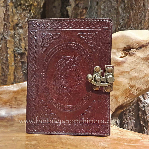 Unicorn Leather C-Lock Journal