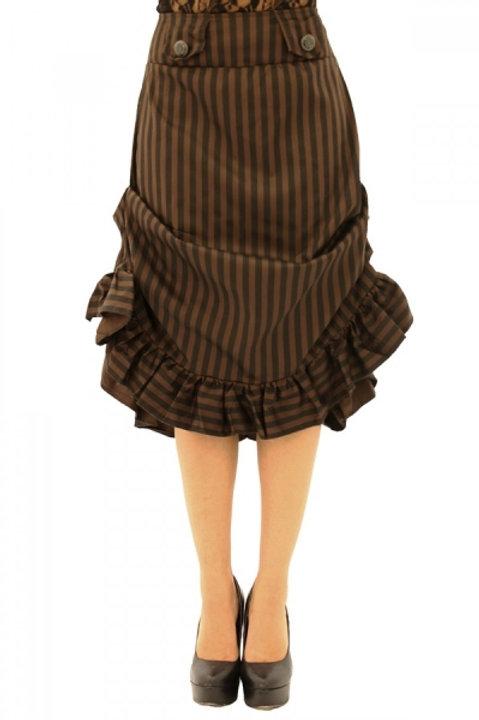 Steampunk tucked Skirt