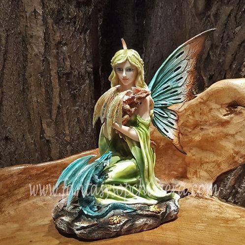 Mara fairy with Dragons