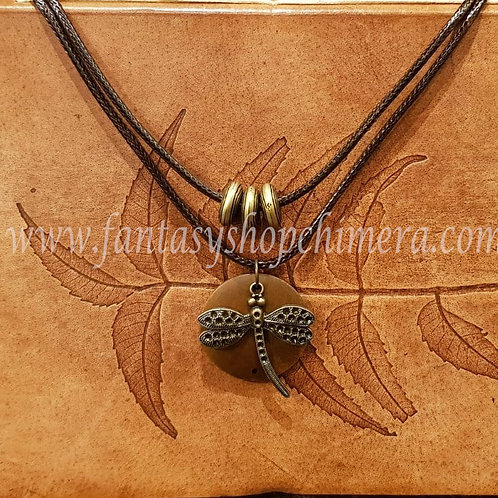 Libelle dragonfly hanger ketting collier necklace jewelry jewellery sieraden fantasy shop winkel amsterdam