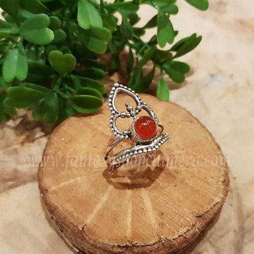 cornelian cornalijn kornalijn ring jewellery jewelry shop amsterdam zwarte ring gothic sieraden zilver winkel