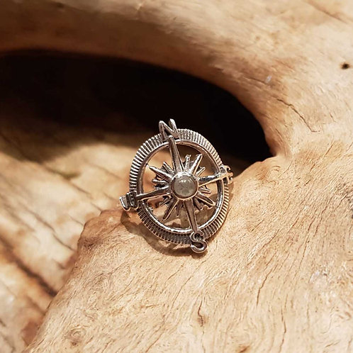 windroos compass ring zilver silver symbolic jewelry jewellery
