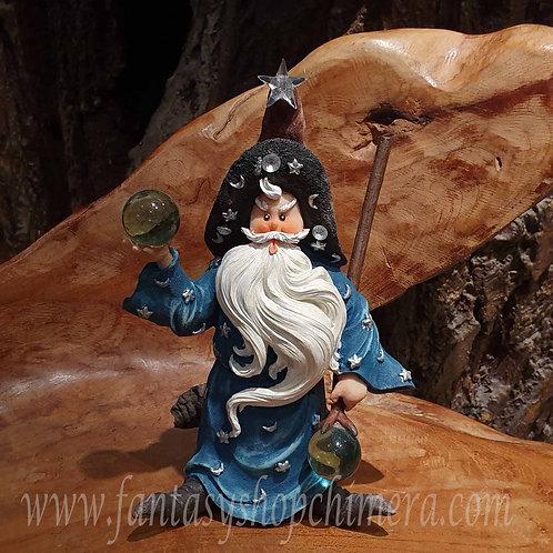 augustinus wizard sorcerer tovenaar figurine beeldje statue merlijn merlin fairytale sprookje