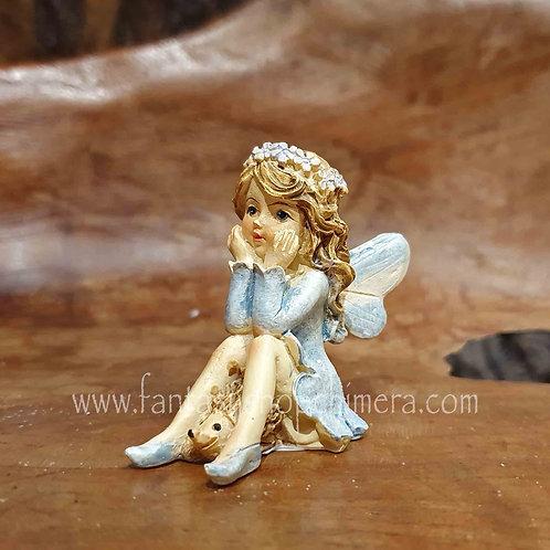 tiny fairy hedgehog buy gift amsterdam fairies figurines klein elfje egeltje beeldje kopen elfenwinkel