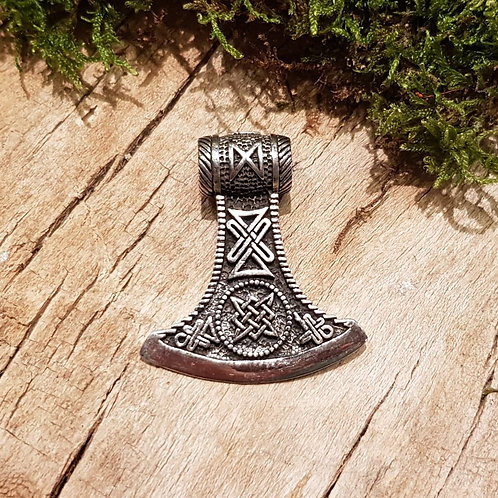 hammer of thor silver symbolic vikings zilveren symbolische hamer