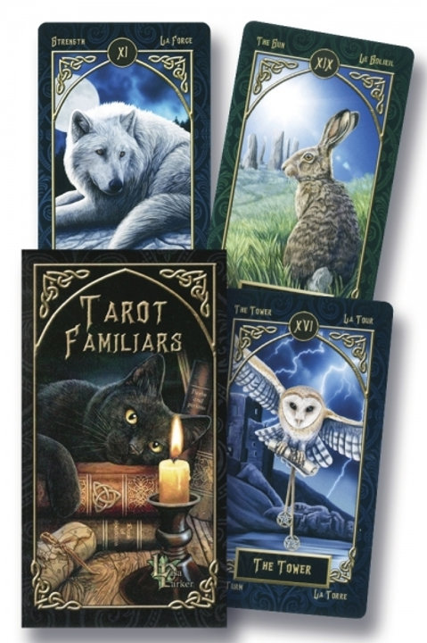 Tarot Familiars Deck by Lisa Parker