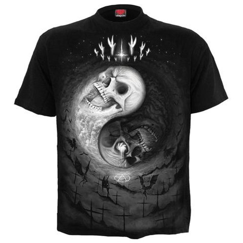 Yin Yang Skulls t-shirt