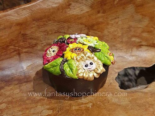 flower frolic triket box porselain porseleinen doosje met bloemen