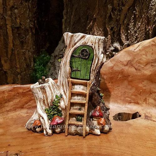 trunky house fairy garden elfenhuisje huis elf pixie elfentuin cottage tuin decoratie