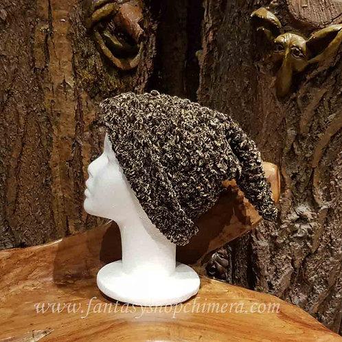 dark forest pixie pointy winter hat puntige wintermuts muts kaboutermuts heren dames