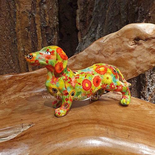 teckel dachshound saucisse dog Weener moneybank spaarpot hondje pomme pidou