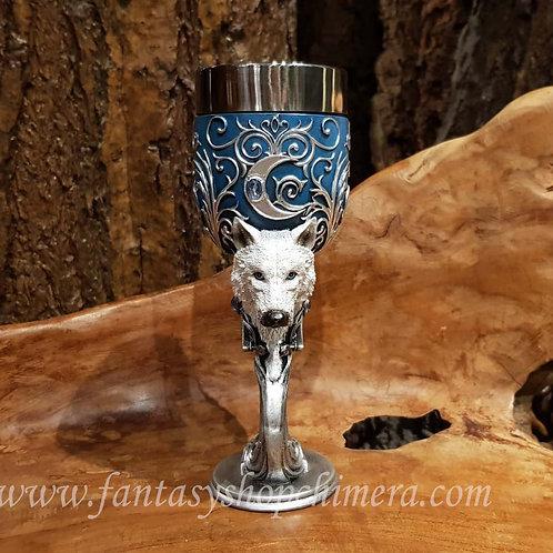 wild at heart wolf goblet chalice wolven beker wijnglas bokaal