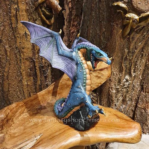 large ceramic furocious dragon draak kopen drakenbeeld drakenwinkel keramiek steen stoneware