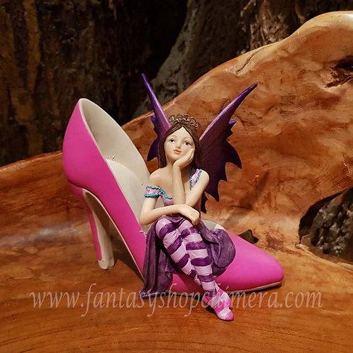 sammy fairy high heel pump elfje op schoen hoge hakken beeldje