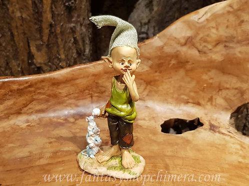 Hmm so good pixie icecream mice mouse figurine beeldje ijsco ijs muisje muizen kaboutertje gnome