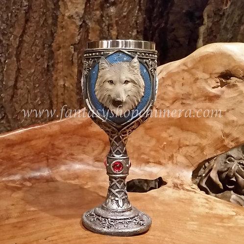 Grey Wolf Goblet
