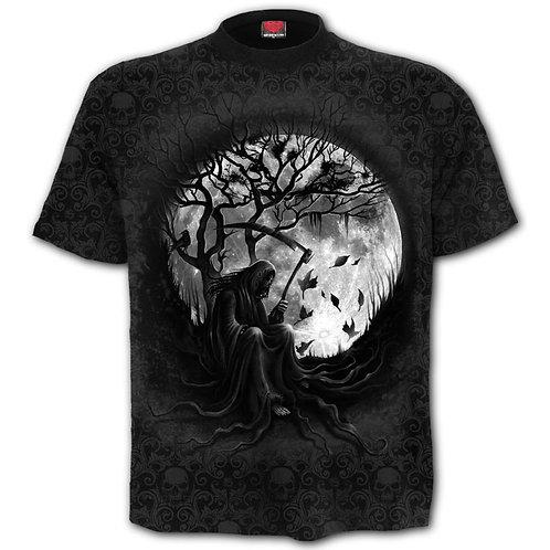 killing moon spiral anne stokes tshirt alternative wear herenkleding stoere shirts alternatieve kleding