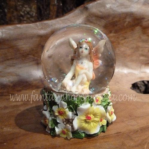 Fairy ball with snow
