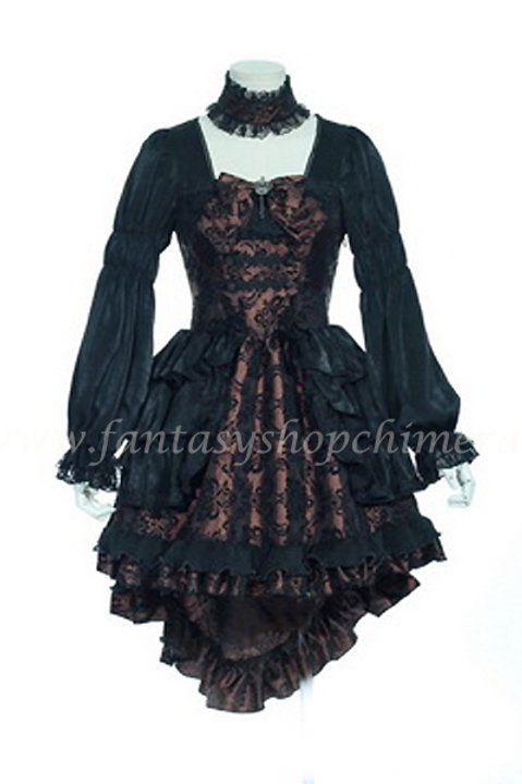Lolita Black Brown Dress