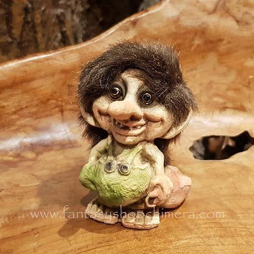 troll with bag pouch nyform original norwegian noorse trollen trollenwinkel trol met zak buidel