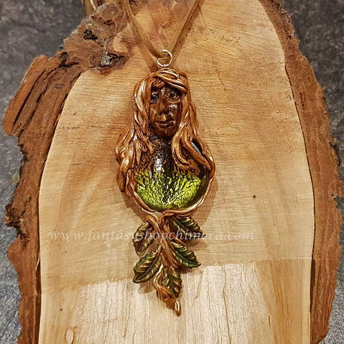 Earth Mother  Pendant