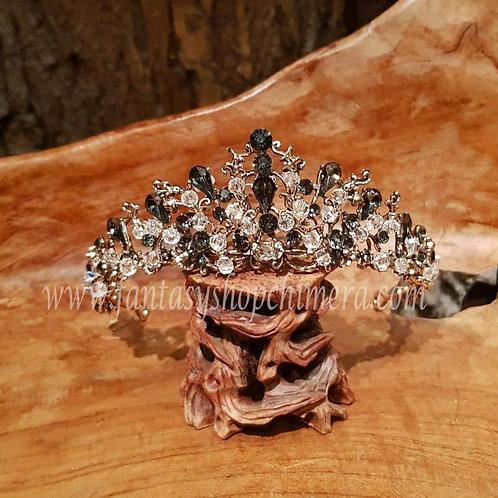 Autumn crown fairy queen tiara jewellery LARP ornaments haar sieraad elfen koningin kroon kroontje prinses princess