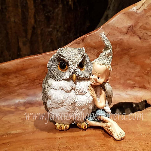 So Soft pixie figurine bird beeldje vogel owl uiltje fantasy shop chimera amsterdam