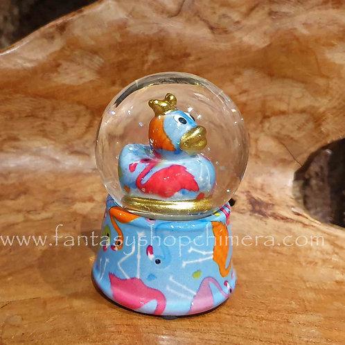king duck snow shaker sneeuw schudbol sneeuwbol pomme-pidou eend decoratie cadeautjes winkel