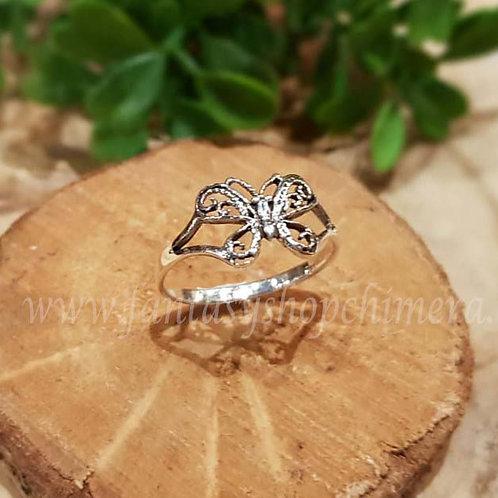 butterfly ring silver vlinder zilver fantasie sieraden fantasy shop amsterdam chimera jewelry jewellery