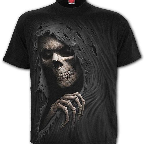 grim ripper hoodie hoody spiral reaper skeleton magere hein skelet trui sweater