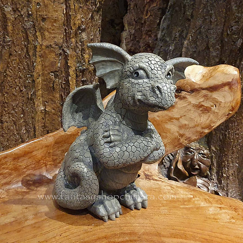 albert garden dragon figurine decoration tuindecoratie tuindraak beeldje draak draken
