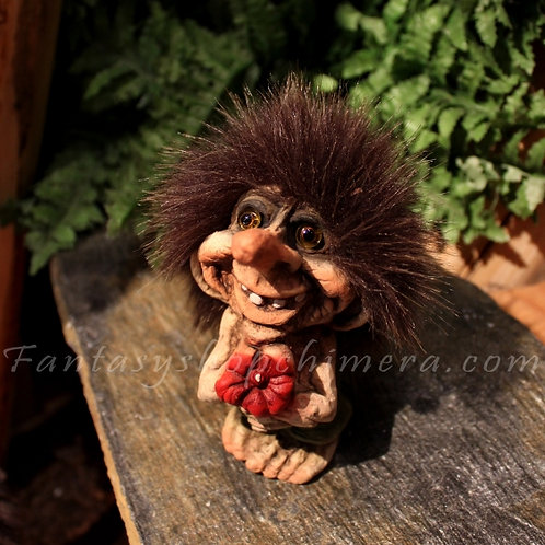 Troll with Flower