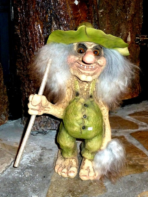 Large Norwegian troll with hat