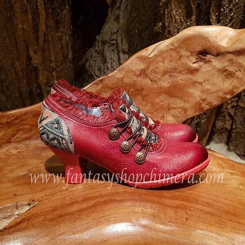 Steampunk Lady shoes vintage victorian stylr stijl schoenen gothic LARP fantasy