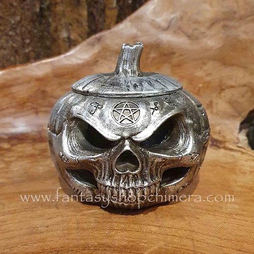 skull pumpkin box alchemy vault schedel pompoen doosje
