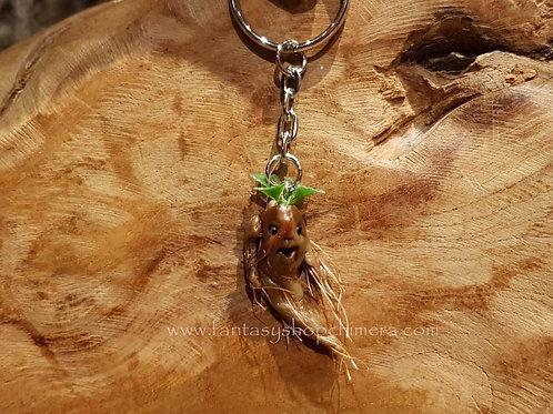 Mandrake baby keyring ooak