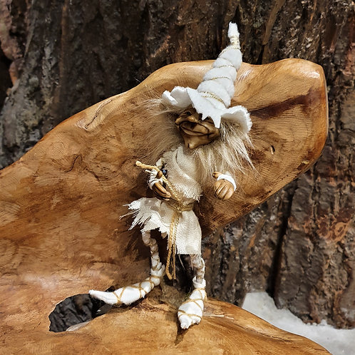 gustaf duende puppet pixie gnome fantasy sigurine kabouter