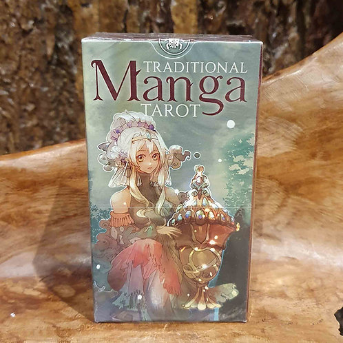traditional manga tarot set deck cards uitleg interpretatie tarotkaarten voorspellen