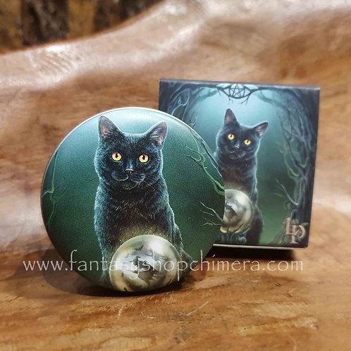 Rise of the witches lip balm tin cat lisa parker apple flavor appel smaak lippenbalsem blikje kat poes kitten