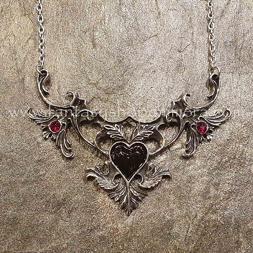 mon amour de soubise roccoco gothic pendant alchemy sieraden